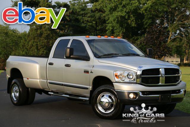 2007 Dodge Ram 3500 Quad CAB 5.9L DIESEL 6-SPD 69K MILES 1-OWNER 4X4