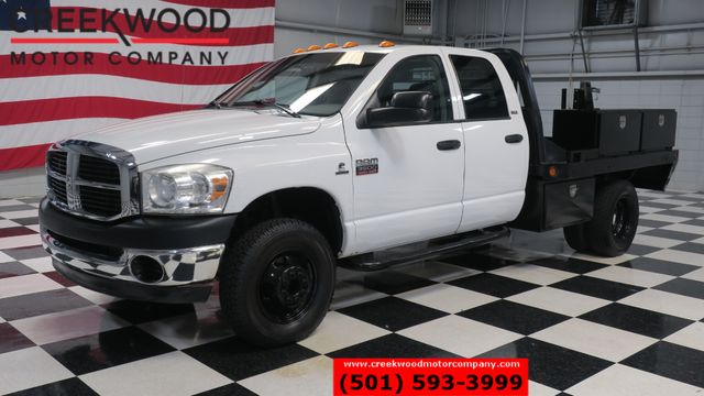 2007 Dodge Ram 3500 SLT 2WD Diesel Auto Dually Service Utility Flatbed