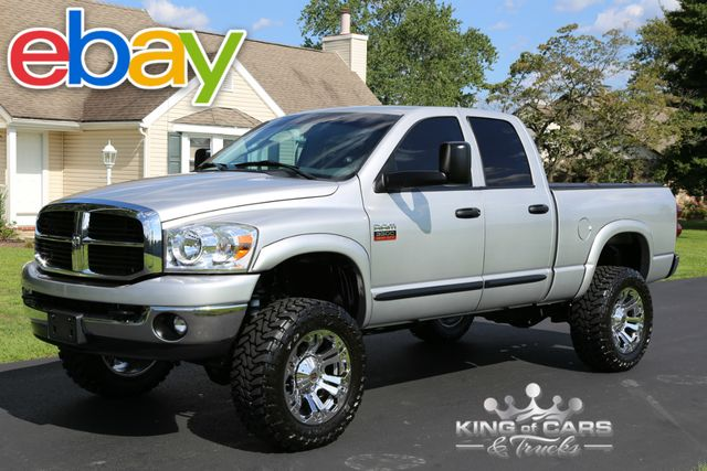 2007 Dodge Ram 3500 Slt 5.9L DIESEL 43K ACTUAL MILES 1-OWNER LIFT 4X4