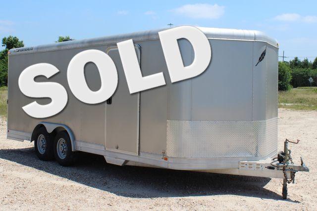 2007 Featherlite 4926 20' ENCLOSED CAR HAULER CONROE, TX