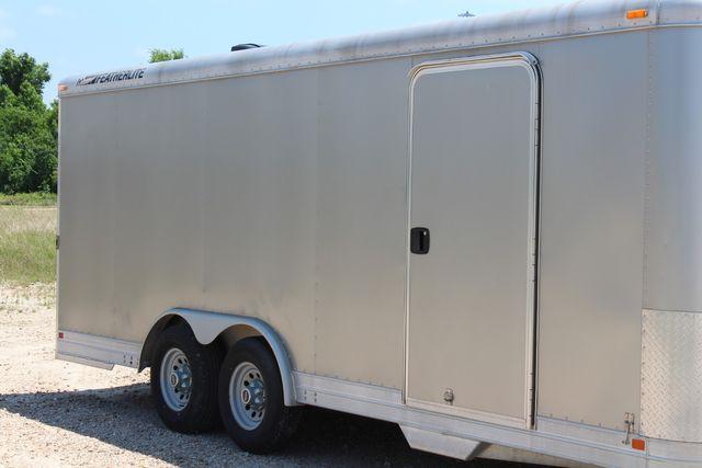 2007 Featherlite 4926 20' ENCLOSED CAR HAULER CONROE, TX 1