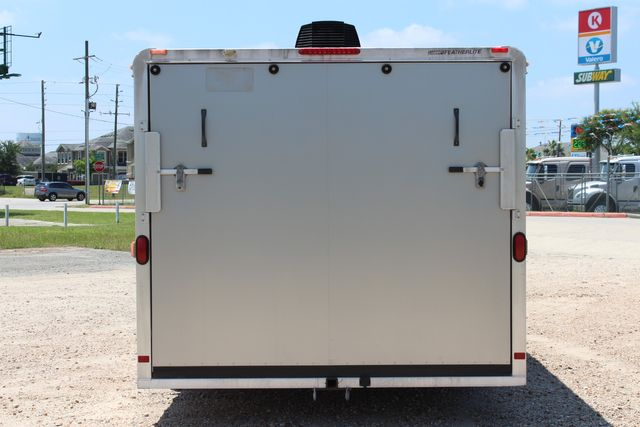 2007 Featherlite 4926 20' ENCLOSED CAR HAULER CONROE, TX 11