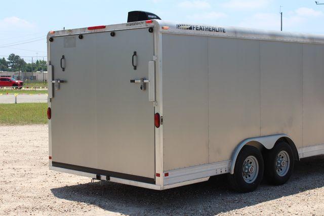 2007 Featherlite 4926 20' ENCLOSED CAR HAULER CONROE, TX 12