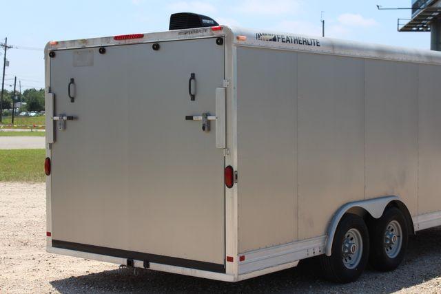 2007 Featherlite 4926 20' ENCLOSED CAR HAULER CONROE, TX 13