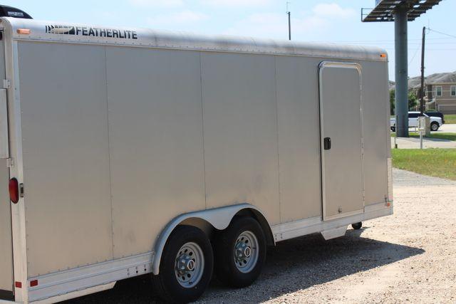 2007 Featherlite 4926 20' ENCLOSED CAR HAULER CONROE, TX 14