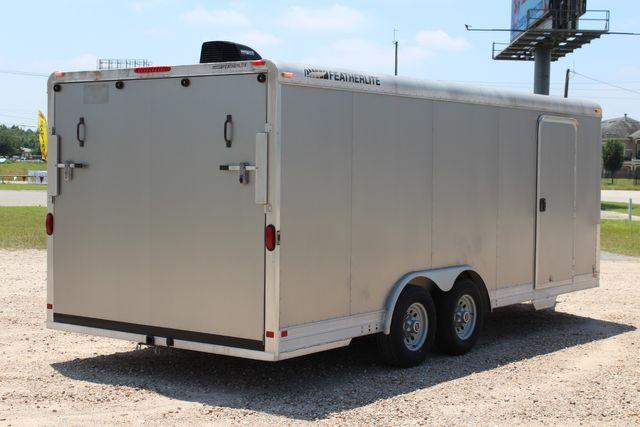 2007 Featherlite 4926 20' ENCLOSED CAR HAULER CONROE, TX 15