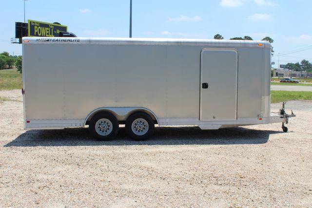 2007 Featherlite 4926 20' ENCLOSED CAR HAULER CONROE, TX 16