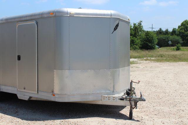 2007 Featherlite 4926 20' ENCLOSED CAR HAULER CONROE, TX 2