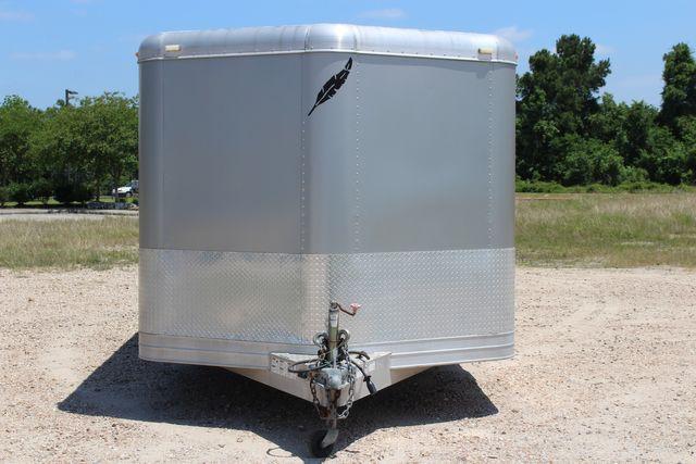 2007 Featherlite 4926 20' ENCLOSED CAR HAULER CONROE, TX 3