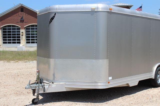 2007 Featherlite 4926 20' ENCLOSED CAR HAULER CONROE, TX 4