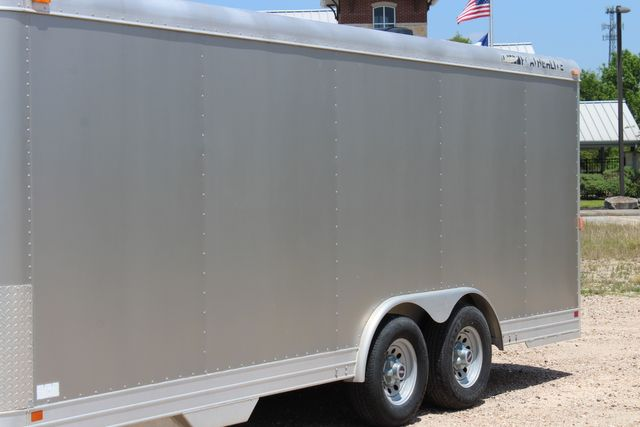 2007 Featherlite 4926 20' ENCLOSED CAR HAULER CONROE, TX 5