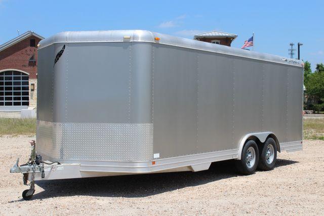 2007 Featherlite 4926 20' ENCLOSED CAR HAULER CONROE, TX 6
