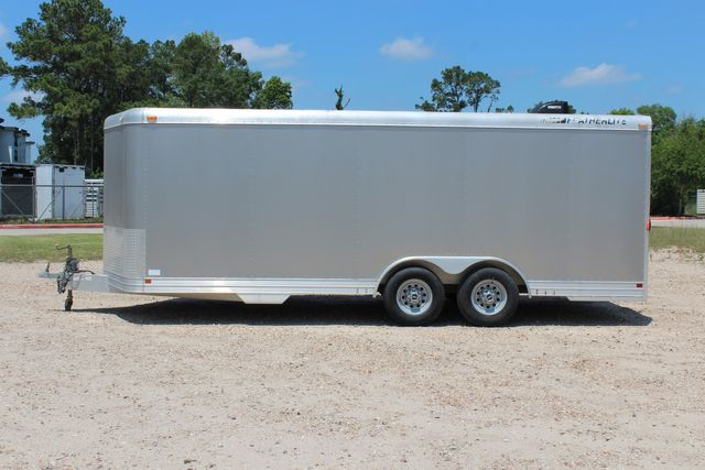 2007 Featherlite 4926 20' ENCLOSED CAR HAULER CONROE, TX 7