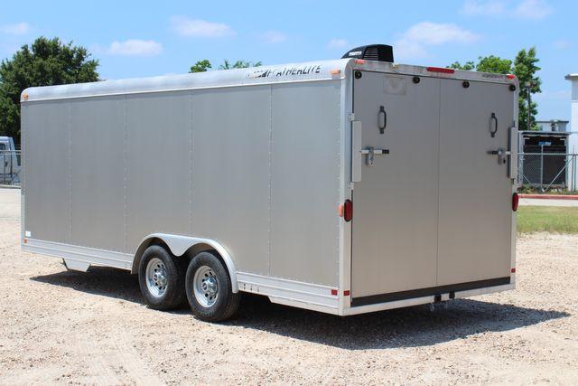 2007 Featherlite 4926 20' ENCLOSED CAR HAULER CONROE, TX 8