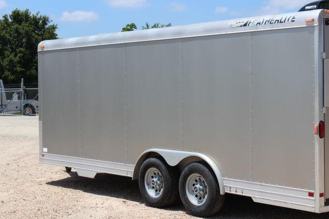 2007 Featherlite 4926 20' ENCLOSED CAR HAULER CONROE, TX 9