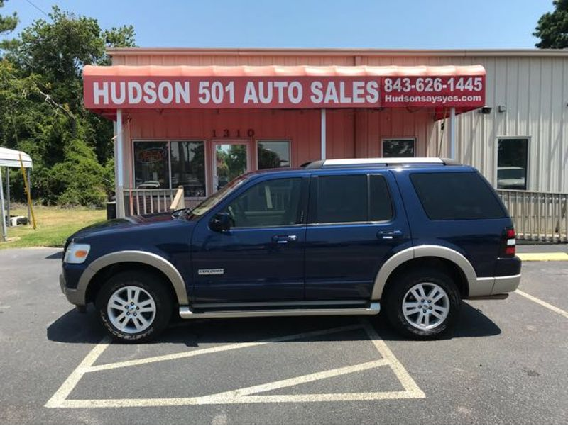 2007 Ford Explorer Eddie Bauer | Myrtle Beach, South Carolina | Hudson Auto Sales in Myrtle Beach South Carolina