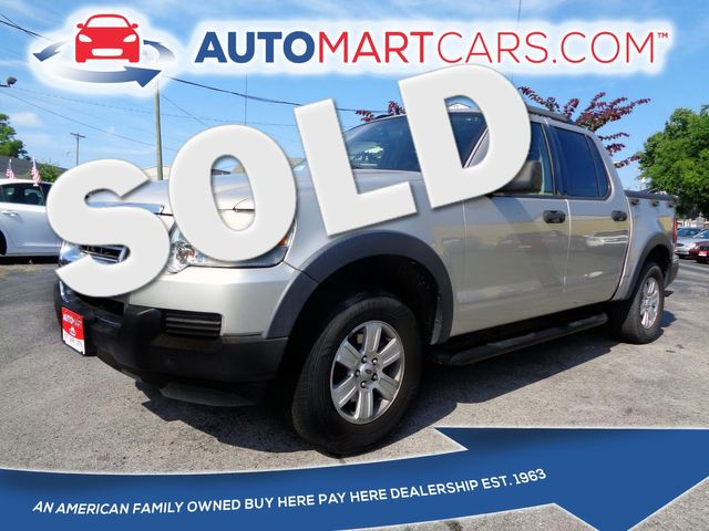 2007 Ford Explorer Sport Trac XLT   Nashville, Tennessee   Auto Mart Used Cars Inc. in Nashville Tennessee
