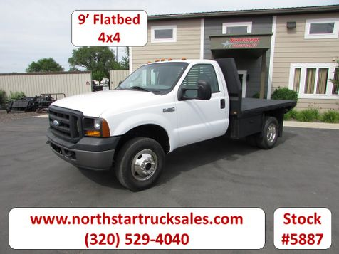 2007 Ford F-350 4x4 Flat Bed Truck  in St Cloud, MN