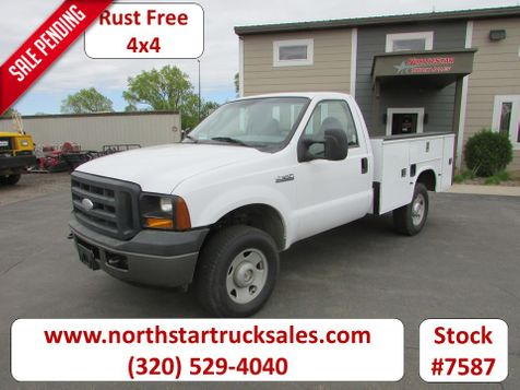 2007 Ford F-350 4x4 Reg Cab Service Utility Truck  in St Cloud, MN