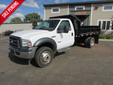 2007 Ford F-550 4x4 Reg Cab New 11' Contractor Dump  in St Cloud, MN