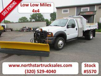 2007 Ford F-550 4x4 Reg Cab Plow Dump Truck in St Cloud, MN