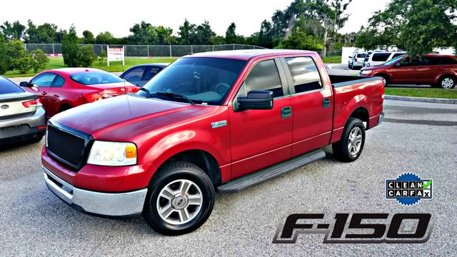 2007 Ford F150 CLEAN CARFAX SUPERCREW   F 150  | Palmetto, FL | EA Motorsports in Palmetto FL