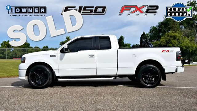 2007 Ford F-150 FX2 CLEAN CARFAX 1 OWNER CHERRY TRUCK | Palmetto, FL | EA Motorsports in Palmetto FL