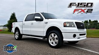 2007 Ford F-150 FX2 clean carfax BLACK LEATHER | Palmetto, FL | EA Motorsports in Palmetto FL