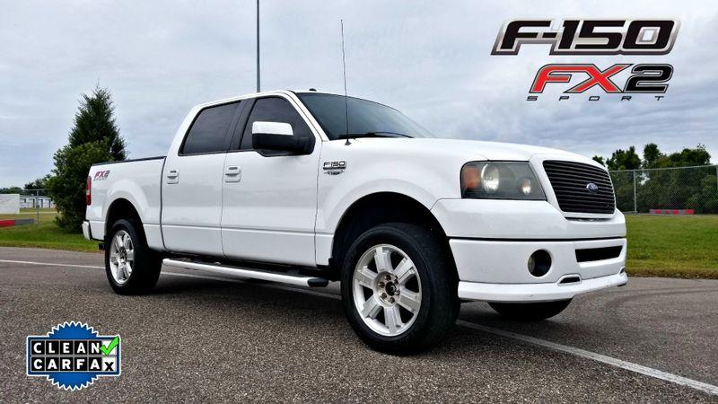 2007 Ford F-150 FX2 clean carfax BLACK LEATHER   Palmetto, FL   EA Motorsports in Palmetto FL