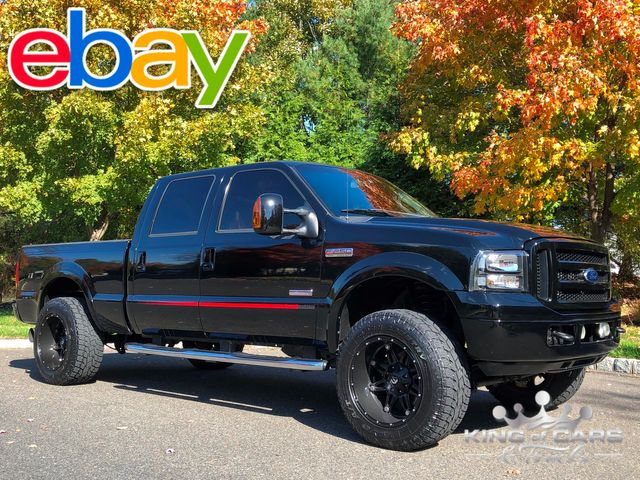 2007 Ford F250 Diesel 4x4 CREW CAB OUTLAW PACKAGE RARE LOW MILES