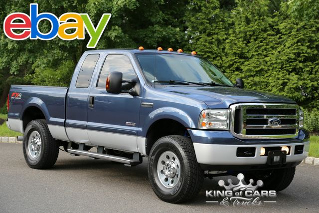 2007 Ford F250 X-Cab Xlt TURBO DIESEL 72K ORIGINAL MILES 1-OWNER 4X4
