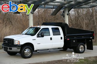 2007 Ford F350 Crew Cab MASON DUMP TURBO DIESEL 48K ACTUAL MILES 4X4 in Woodbury New Jersey, 08096