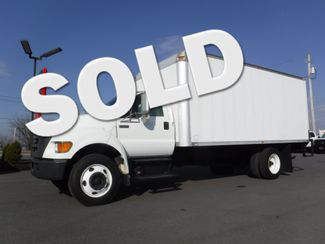 2007 Ford F750 18FT Box Truck with 5.9L Cummins Diesel Non CDL in Lancaster, PA PA