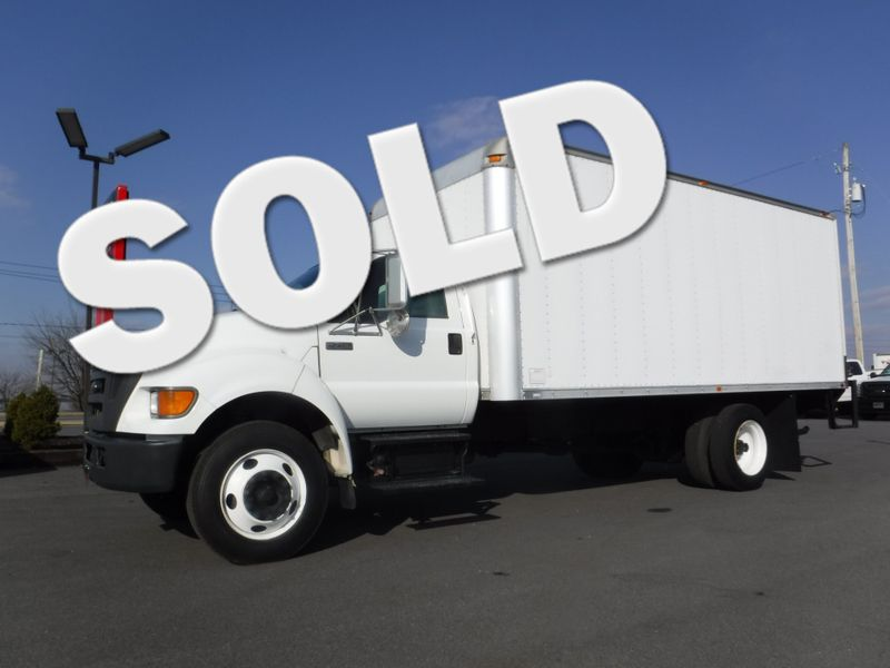 2007 Ford F750 18FT Box Truck with 5.9L Cummins Diesel Non CDL in Ephrata PA