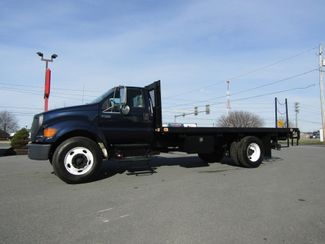 2007 Ford F750 18' Flatbed with Lift Gate 5.9L Cummins in Lancaster, PA, PA 17522