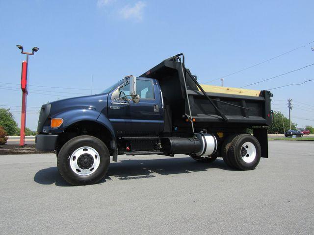 2007 Ford F750 9' Dump Truck 4x4 5.9L Cummins Diesel