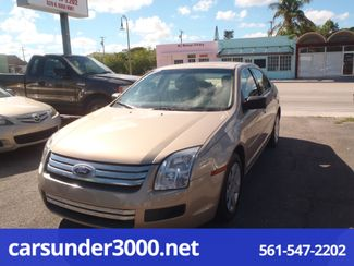 2007 Ford Fusion S Lake Worth , Florida