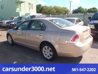 2007 Ford Fusion S Lake Worth , Florida 3