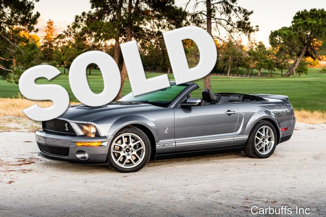 2007 Ford Mustang Shelby GT500 | Concord, CA | Carbuffs in Concord