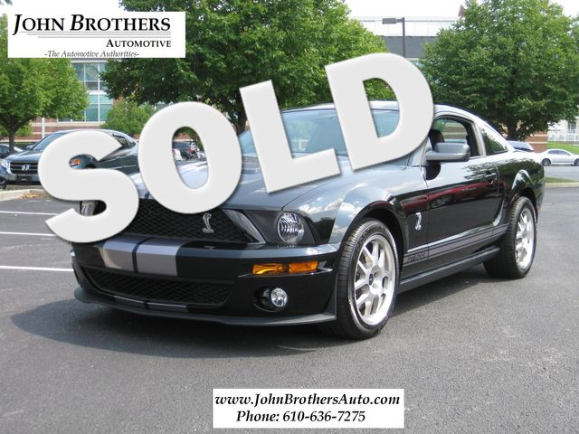 2007 Sold Ford Mustang Shelby GT500 Conshohocken, Pennsylvania