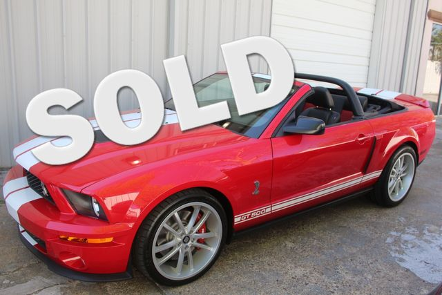 2007 Ford Mustang Shelby GT500 Houston, Texas 0