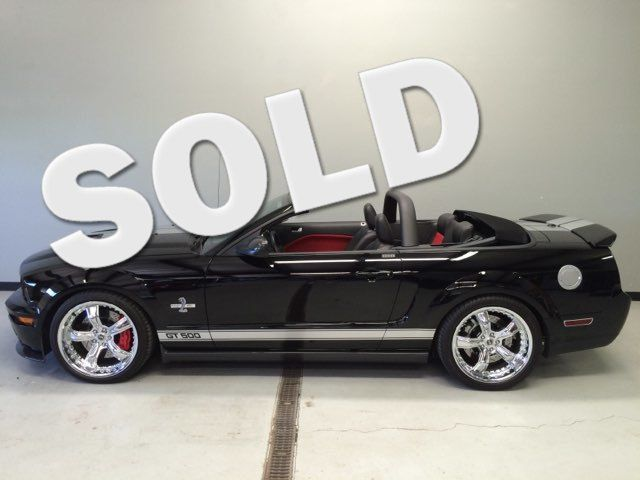 2007 Ford Mustang Shelby GT500 40th ANNIVERSARY