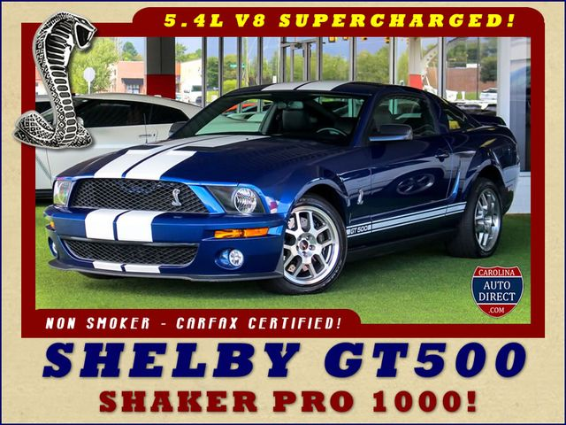 2007 Ford Mustang Shelby GT500 - SUPERCHARGED - SHAKER 1000 SOUND! Mooresville , NC 0