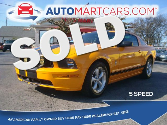 2007 Ford Mustang Deluxe | Nashville, Tennessee | Auto Mart Used Cars Inc. in Nashville Tennessee