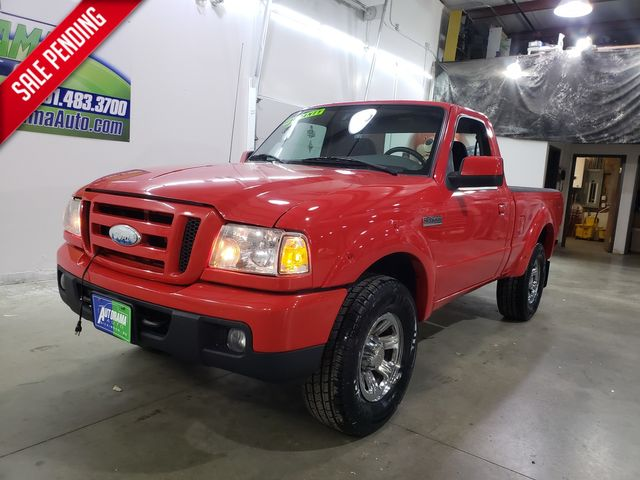 2007 Ford Ranger Sport 4x4 Manual