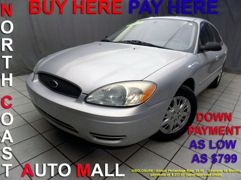 2007 Ford Taurus SE As low as $799 DOWN in Cleveland, Ohio