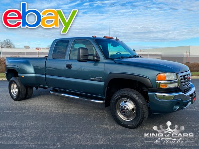 2007 Gmc 3500 Lbz Duramax DIESEL 4X4 EXT CAB 2-OWNER LOW MILE WOW