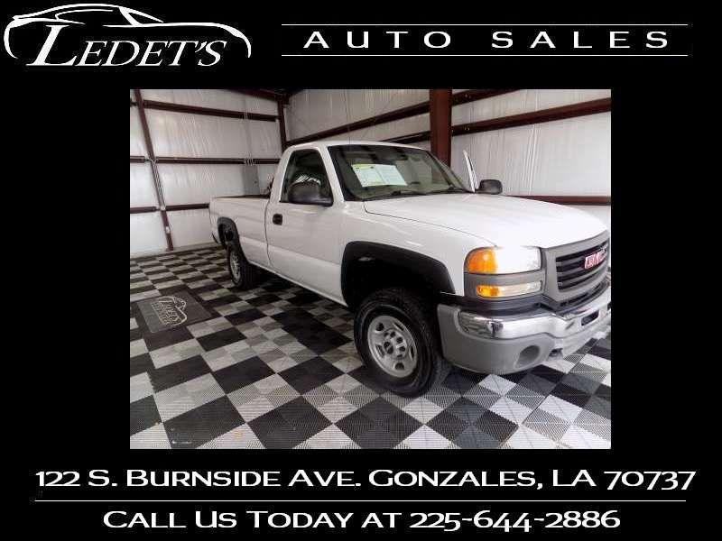 2007 GMC Sierra 2500HD Classic Work Truck - Ledet's Auto Sales Gonzales_state_zip in Gonzales Louisiana
