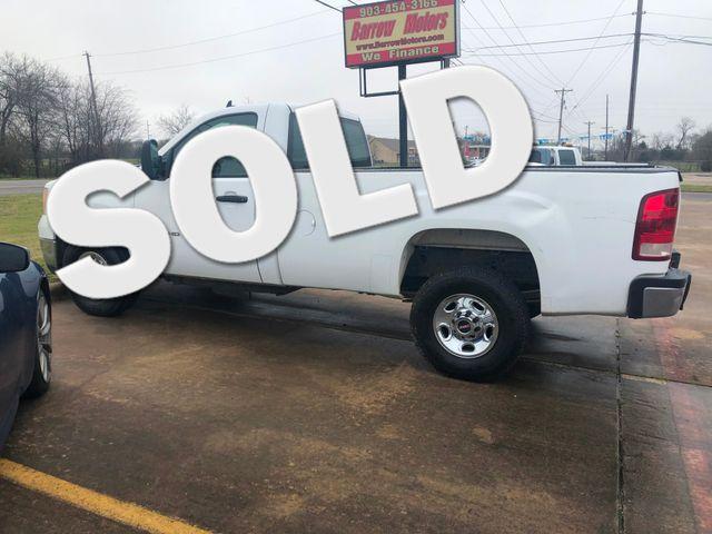 2007 GMC Sierra 2500HD Work Truck | Greenville, TX | Barrow Motors in Greenville TX