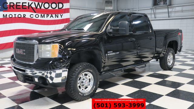 2007 GMC Sierra 2500HD SLT 4x4 Diesel Z71 Black BFG Tires Leather Heated in Searcy, AR 72143